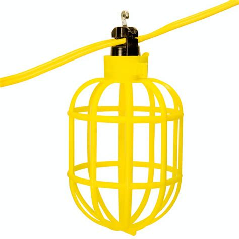 100 ft string lights 100 ft string light with 10 pin type l holders and guard