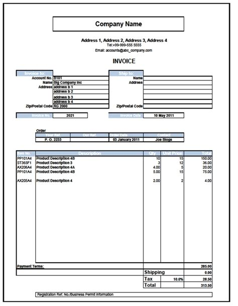 excel 2007 invoice template free sales invoice template excel 2007 28 images invoice