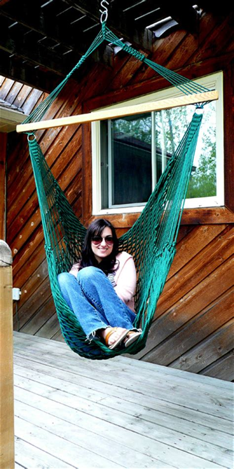 How To Hang A Hammock Chair Indoors by Hammocks