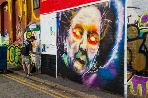 Graffiti Artist Belfast Northern Ireland Travel Past 50