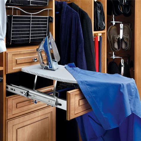 Fold Out Ironing Board Drawer by Rev A Shelf Closet Vanity And Kitchen Drawer Fold Out