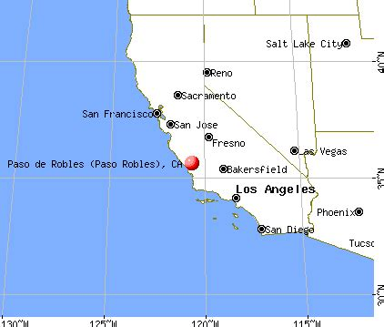 where is el paso located in california usa el paso de robles paso robles california ca 93446