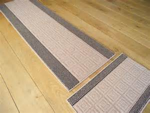 Door Runner Rug Beige Black Caravan Washable Runner Rugs Door Mat Ebay