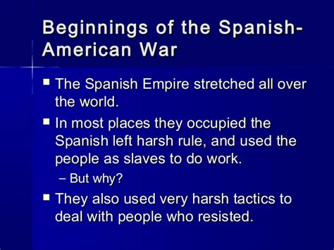section 2 the spanish american war chapter 20 section 2 the spanish american war