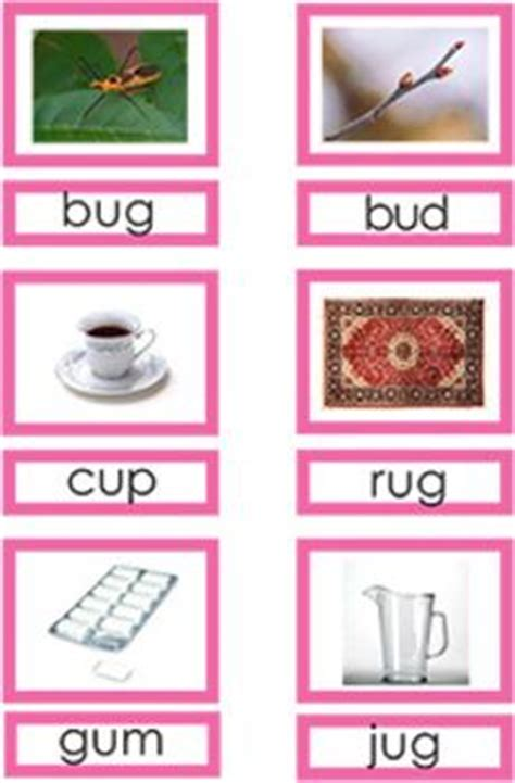 free printable montessori pink cards montessori language on pinterest stellaluna