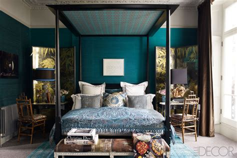 teal walls bedroom cottage talk going dark in the bedroom design