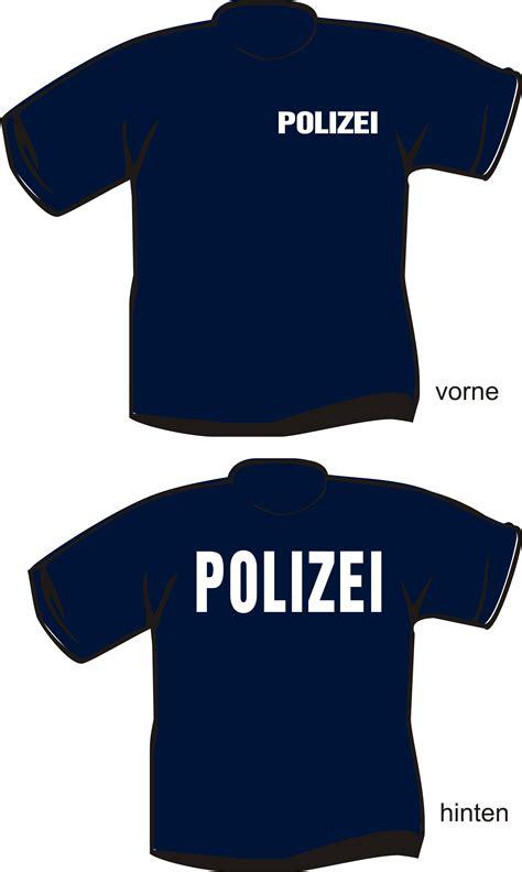 T Shirt Berlin t shirt polizei textildruck berlin