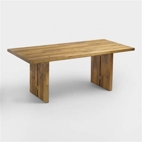 pine dining room table reclaimed pine nolan dining table market