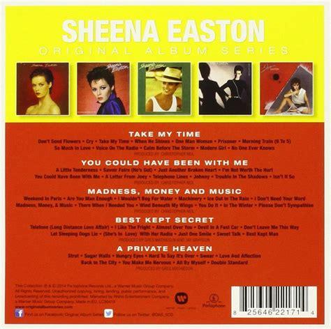 format cd original sheena easton original album series cd opus3a