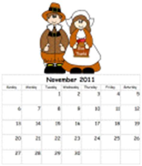 printable calendars dltk thanksgiving printables for children