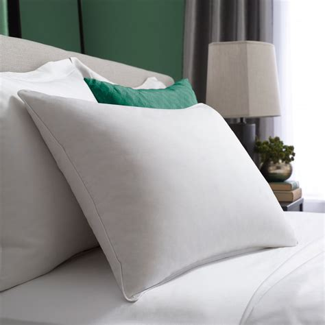 pillow in bed hotel collection symmetry pillow pacific coast bedding