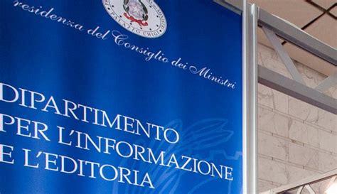 presidenza consiglio dei ministri pec editoria attiva la sezione speciale governo per l