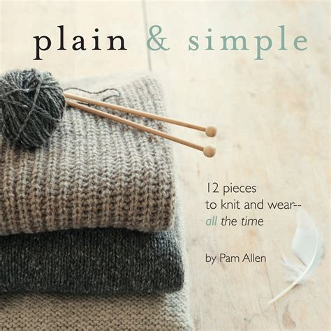 plum dandi knits simple designs for luxury yarns books plain simple 12 pieces to knit and wear all the time