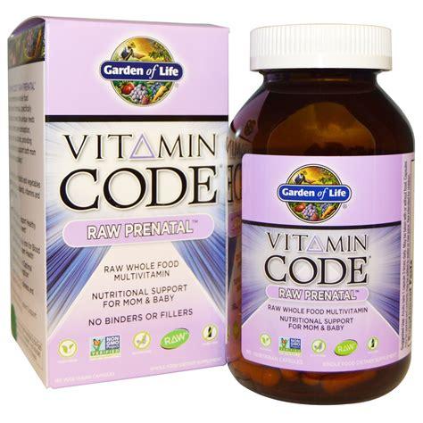 Garden Of Prenatal Vitamins Vitamin Code Prenatal Garden Of Vitamin Code Prenatal 180 Veggie