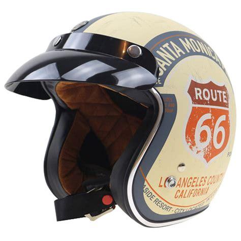 Helm Retro Type Maroon aliexpress buy torc motorcycle helmet 3 4 open motorbike helmet dot approved jet