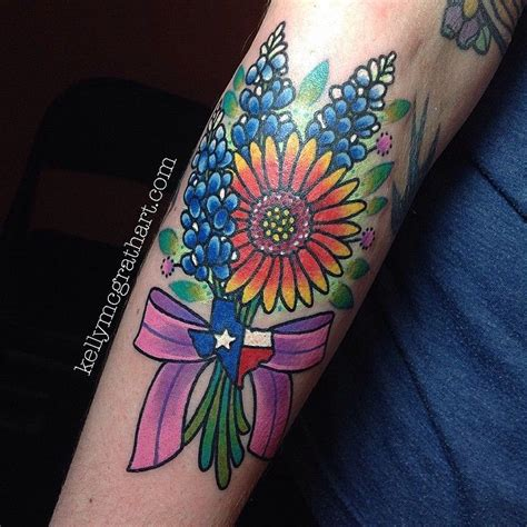 texas themed tattoos 25 best ideas about bluebonnet on