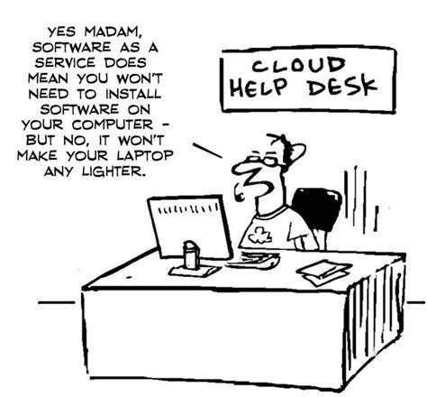 Help Desk Humor by Cloud Help Desk Cloud Humor Desks Cloud