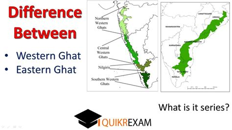 What Is The Difference Between Western Ghat And Eastern