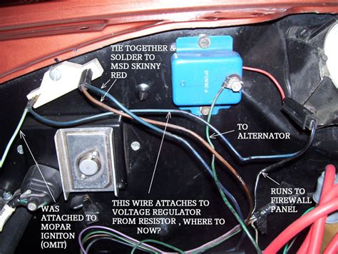 1978 dodge voltage regulator diagram dodge alternator