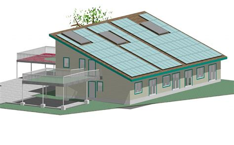 zero energy home design plan positive nrg triplex zero energy home plans