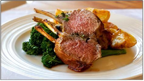 Lamb Rack with Honey Mustard Glaze   Recipes   Kleenmaid