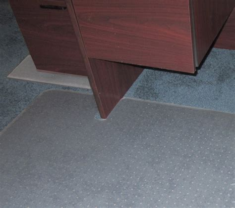 Corner Desk Chair Mat by Custom Chair Mats For Carpet Are Custom Desk Chair Mats By