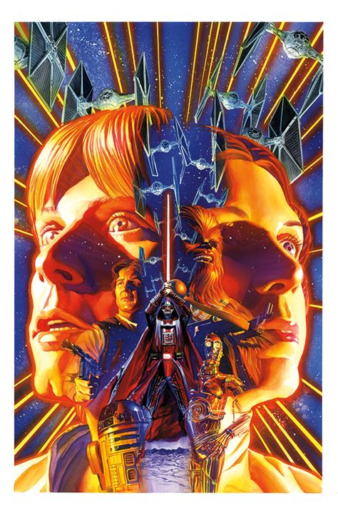 Wars Comics Framed Genuine Postcard Empire S End Luke Leia Han So wars 1 comics review gamer