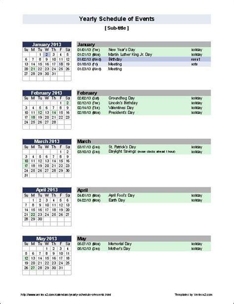 ideas event calendar template pinterest