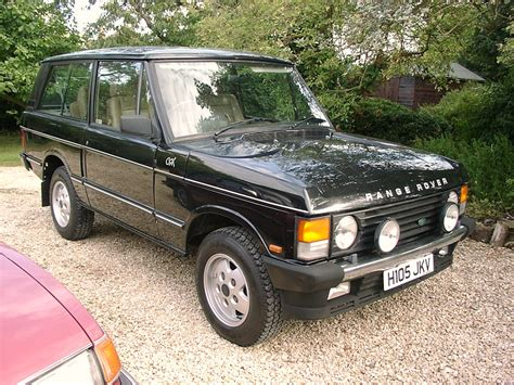 land rover 1990 1990 land rover range rover i pictures information and