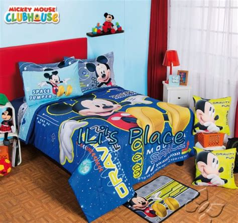 mickey mouse twin comforter set twin full size boys disney mickey mouse space comforter