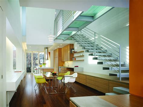 row house interiors best renovation by a local firm studio 27 capitol hill row house