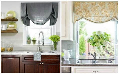 kitchen shades small kitchen window treatments blindsgalore