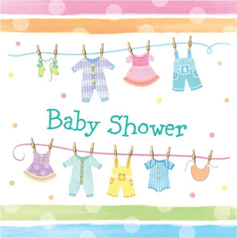 Baby Shower by Baby Shower Napkins 16s Non Stop Shop