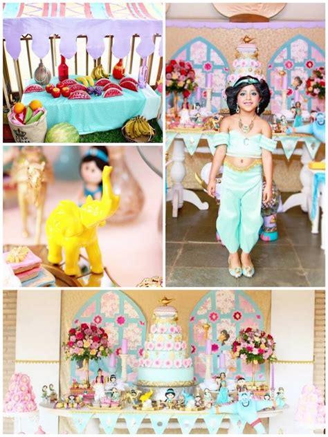 jasmine themed birthday party kara s party ideas princess jasmine birthday party via