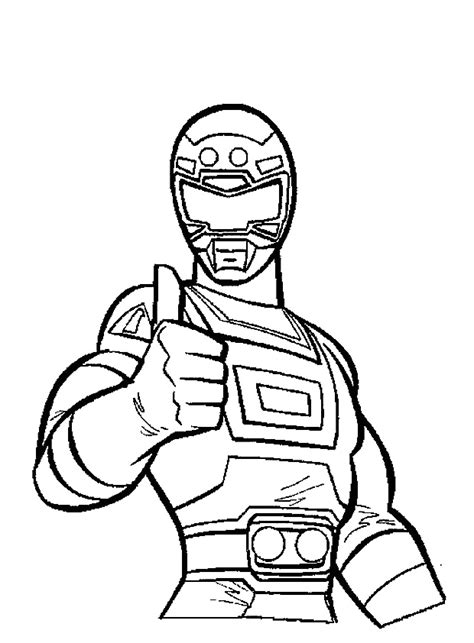 red power ranger coloring pages www imgkid com the