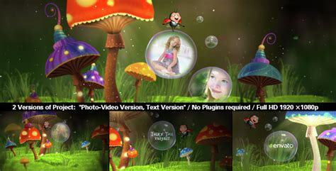 Fairy Tale Slideshow Cartoons After Effects Templates F5 Design Com Disney After Effects Template