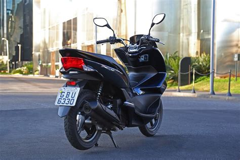 Pcx 2018 O Que Mudou by Honda Pcx 150 2018 Azul Perolizado Motorede