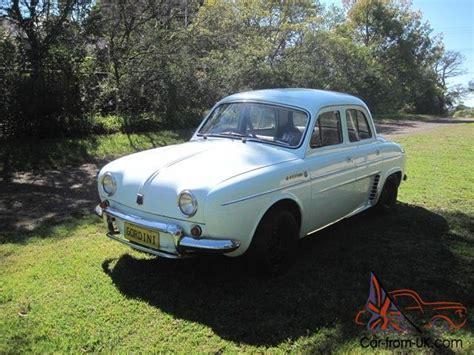 renault dauphine gordini 1963 excellent condition r8 r10