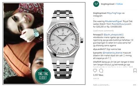 Jam Tangan Franck Muller Syahrini 6 selebriti indonesia yang koleksi jam tangan mewah nomor