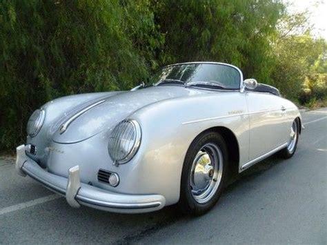 porsche california speedster buy used 1957 california porsche vintage speedster replica