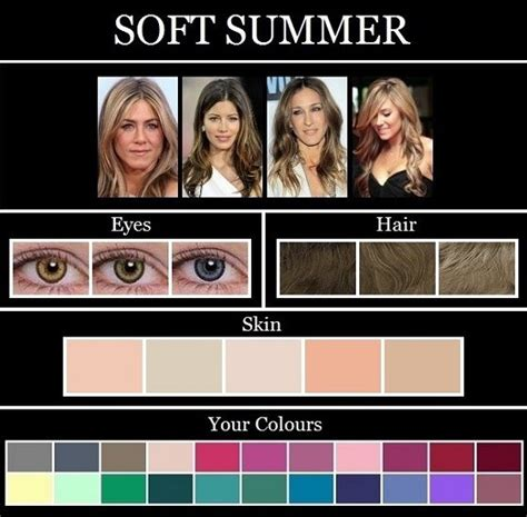 hair colors for summer skin tones 123 best images about color analysis soft summer light or