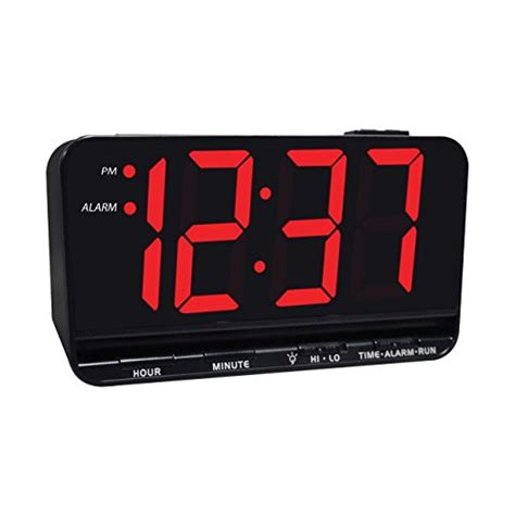 jumbo display digital alarm clock with 3 inch led import