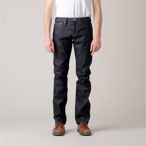 Denim Unbranded Unbranded Tapered 14 5oz Selvedge Unbranded Denim