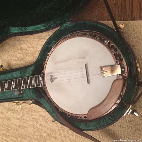best banjos prucha top tension banjo used banjo for sale at