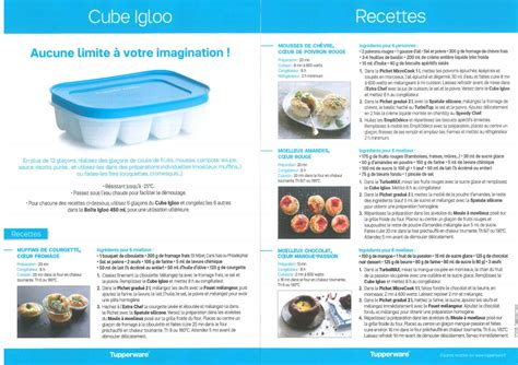 Cool Tupperware By Tupp Chan fiche produit tupperware cube igloo les macarons 224 la