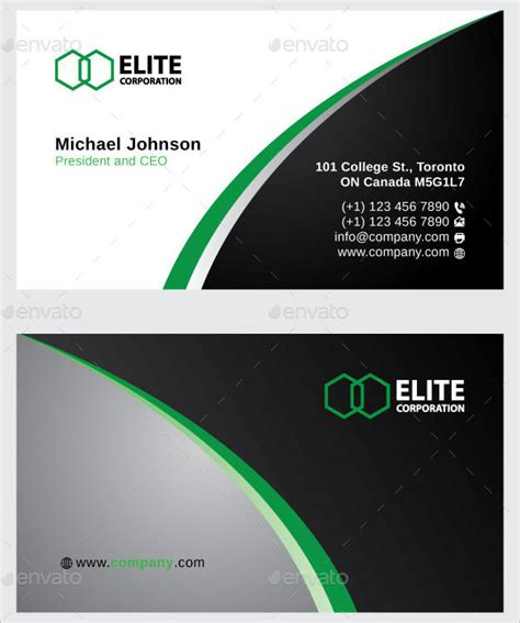 name card template free business card template free vector 29