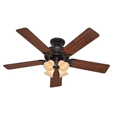 hunter builder elite 52 in indoor new bronze ceiling fan hunter state street 52 in indoor new bronze ceiling fan