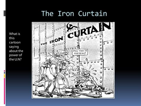 what year was the iron curtain speech the iron curtain by pepeuk teaching resources tes