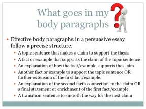 How To Write Paragraphs In An Essay by Paragraphs