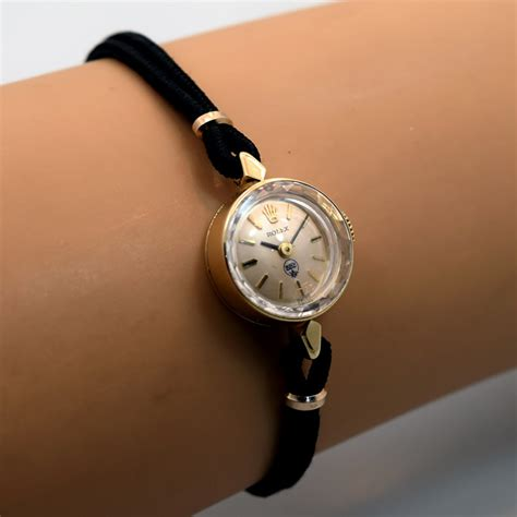 1970 s vintage rolex orchid 14k yellow gold
